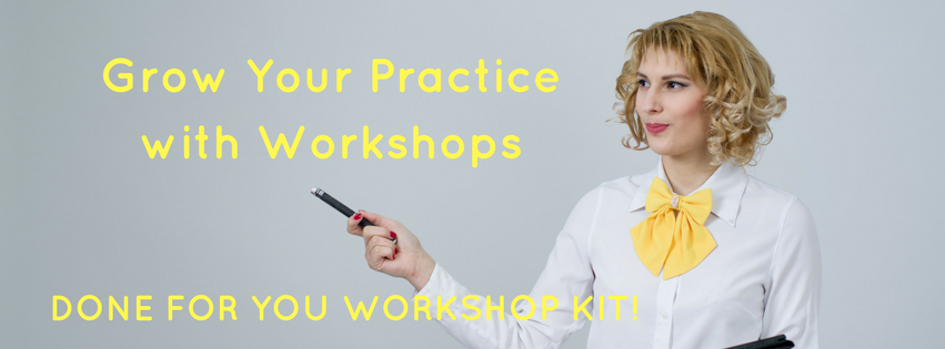 Grow Your Practice with Workshops