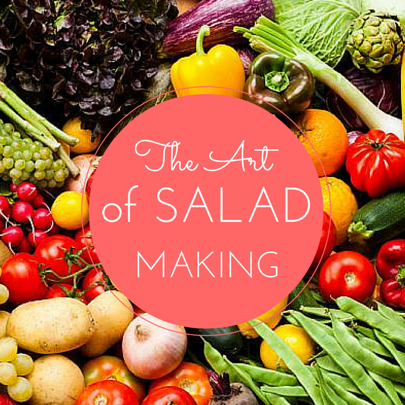 5 Steps to a Super Healthy & Satisfying Lunchtime Salad