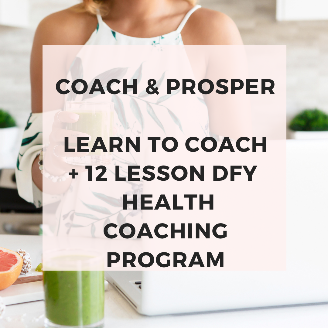 health coaching course for nutrition practitioners